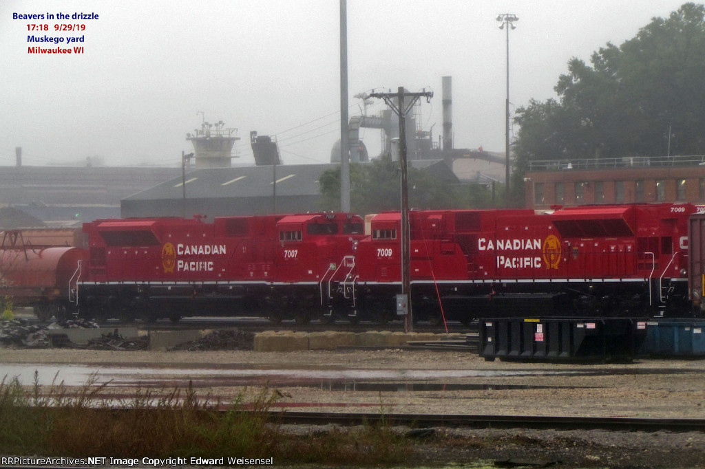 Freshly rebuilt SD70ACU duo will head west behind CP 8799 + UP 5691